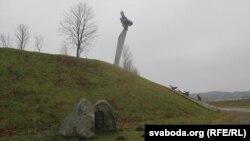 Помнік Гастэлу ў Радашкавічах