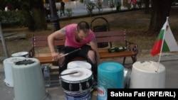 Varna, Bulgaria 2016: toboșarul