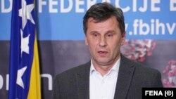 Premijer Federacije BiH Fadil Novalić.