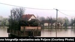 Selo Poljane kod Obrenovca, arhivska fotografija