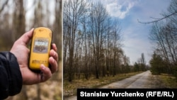 Дорога через «Рудий ліс» частково очищена від радіації (дезактивована). Однак вже на узбіччях рівні радіації починають зростати