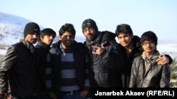 Индийские студенты, обучающиеся в Кыргызстане