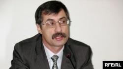 Правозащитник Евгений Жовтис. Алматы, 14 января 2009 года.