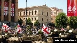 Военный парад в День независимости Грузии