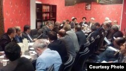 File photo -A meeting of Reformists' high policy making council, during president Hassan Rouhani's first term when some still hoped to tame pro-Khamenei hardliners..