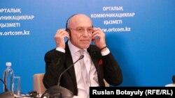 Французский режиссер и продюсер Режис Гезельбаш. Астана, 21 ноября 2014 года.