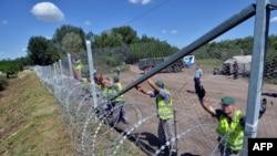 Granica između Srbije i Mađarske