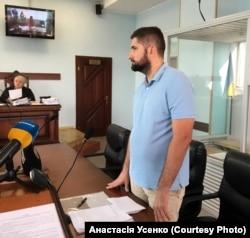 Артем Бугрим, захисник підозрюваного, 12 серпня 2019 року