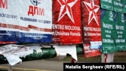 Неужели назад? Предвыборная агитация в Кишиневе