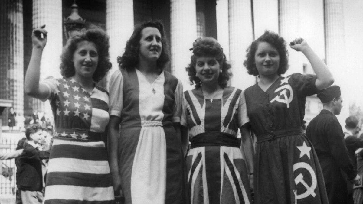 Празднование Победы над нацизмом в 1945 году по всему миру – фотогалерея архивных фотографий