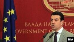 Министерот за надворешна работи на Македонија Никола Попоски