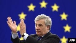 Новий президент Європарламенту Антоніо Таяні