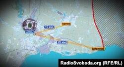 Від стадіону «Іллічівець» до лінії фронту – трохи більше 20 кілометрів