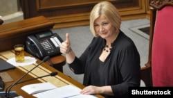 Один из авторов обращения, вице-спикер Верховной Рады Украины Ирина Геращенко