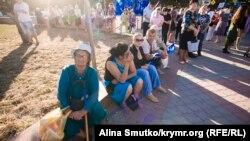Митинг «Единой России» накануне выборов в Госдуму России, Симферополь, 16 сентября 2016 года