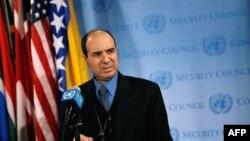 Посол Ливии при ООН Ибрагим Даббаши.