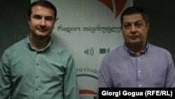ლევან ნატროშვილი (მარცხნივ), კონსტანტინე კანდელაკი
