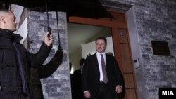 Уходящий в отставку премьер-министр Македонии Никола Груевски.