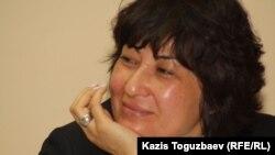 """Гульмира Илеуова, директор НПО """"Стратегия"""". Алматы, 5 мая 2014 года."""