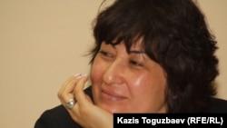 """Стратегия"" әлеуметтiк және саяси зерттеулер орталығының директоры Гүлмира Илеуова."