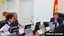 Заседание правительства КР. Иллюстративное фото.