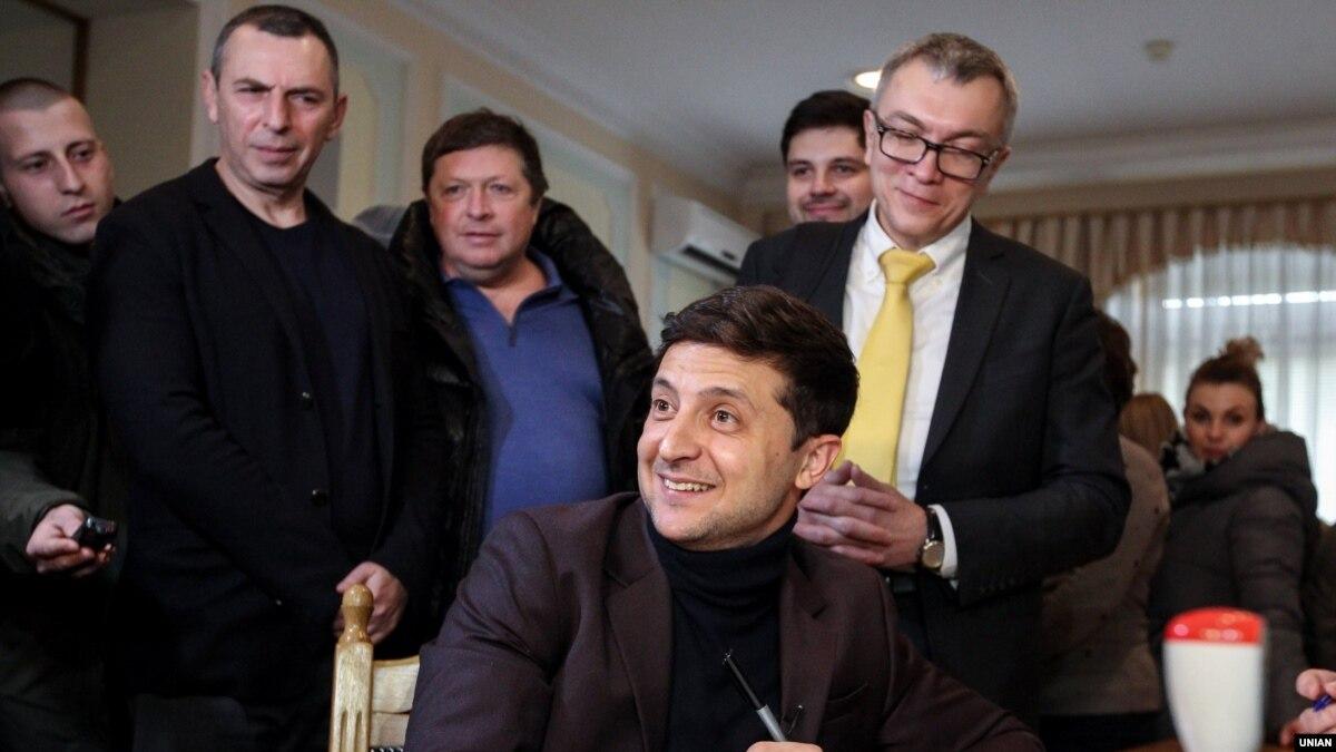 Данилюк про спілкування Зеленського з пресою: «він має досить активну присутність у медіа»
