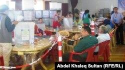 عملية عد وفرز الأصوات الإنتخابية في دهوك