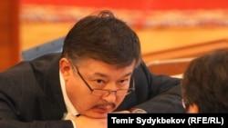 Ахматбек Келдибеков, бывший спикер парламента Кыргызстана.
