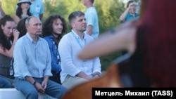 Владимир Путин на образовательном форуме «Таврида». Крым, 2017 год