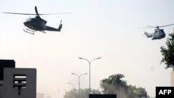 Пакистан - Равалпиндиде армия штабына болгон чабуулдан кийин. 10-октябрь, 2009-ж.