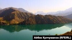 Кызыл-Бейит айылы жайгашкан аймак. Аксы району.