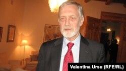 William Hill, fostul ambasador OSCE la Chișinău, în 2010