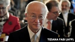 Shefi i Agjencisë Ndërkombëtare për Energji Bërthamore (ANEB), Yukia Amano.
