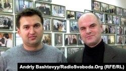 Олексій Голобуцький (ліворуч) і Дмитро Луценко