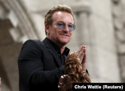 U2 lead singer Bono (file photo)