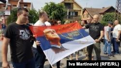 Radikali na barikadama pred Hrtkovcima