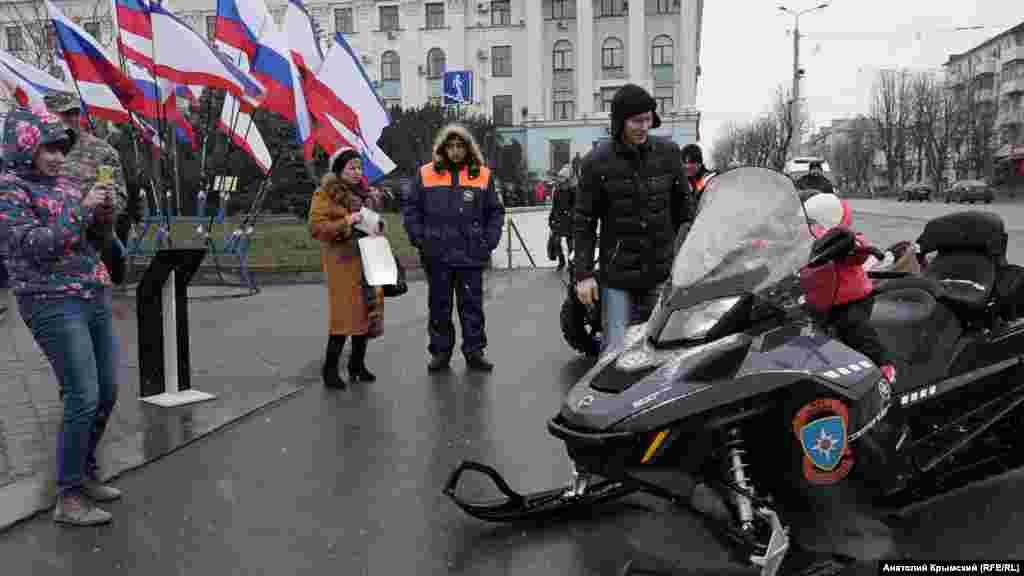 Новый снегоход российского МЧС