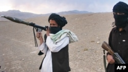 Members of Afghanistan's Taliban militia