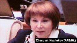 Гульжана Карагусова, депутат парламента Казахстана.