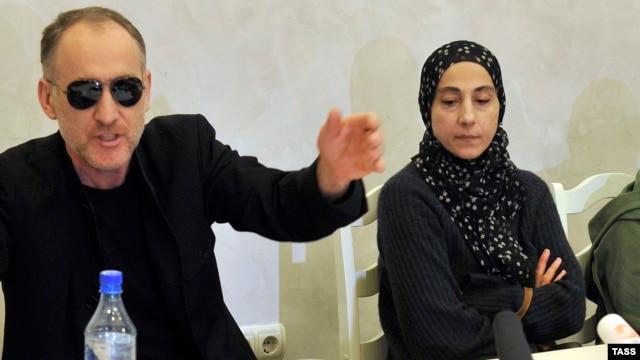 Anzor Tsarnaev (left) and Zubeidat Tsarnaeva have denied that their sons Tamerlan and Dzhokhar could be responsible for the Boston bombings.