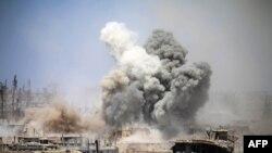 Daraa, 22 Maj 2017