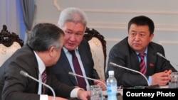 Лидеры коалиционных депутатских фракций