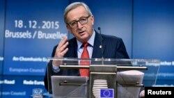 Жан-Клод Юнкер, Европа Комиссиясынын төрагасы.