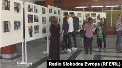 Изложба на дела на деца со попречености во Тетово