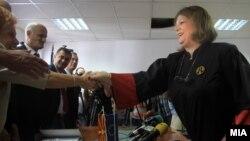 Новоизбраниот специјален обвинител Катица Јанева даде свечена заклетва пред Советот на јавни обвинители