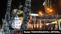 Тбилиси в ожидании Нового года