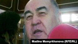 Лидер провластной Коммунистической народной партии Казахстана Владислав Косарев. Астана, 27 января 2012 года.