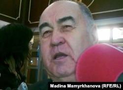 Парламент мәжілісінің депутаты, Қазақстанның коммунистік халықтық партиясының жетекшісі Владислав Косарев. Астана, 27 қаңтар 2012 жыл.