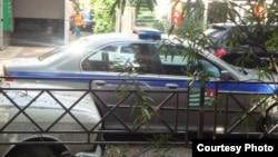 Վրացական ոստիկանության ավտոմեքենա, արխիվ