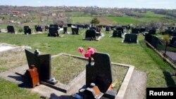 Кладбище в Сербии